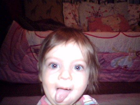 Portrait of a little sister