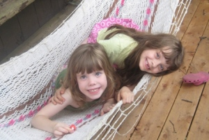 Catching up in the hammock...
