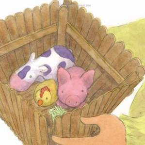 Chicken, Pig and Cow are friends