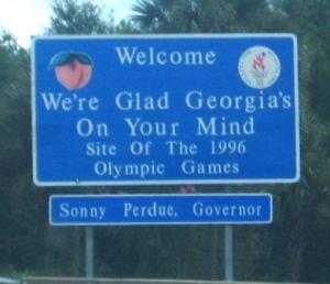 ...then through Georgia...