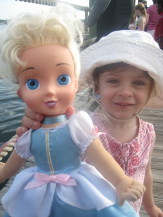 My 2yo and her Disney World pal Cinderella