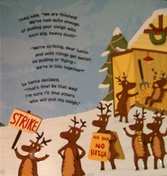 Reindeer on strike!